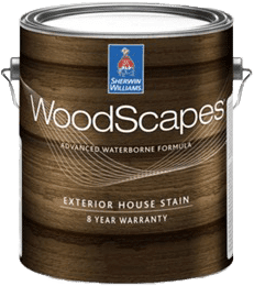Sherwin Williams WoodScapes Stain