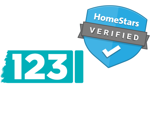 123 Paint Verified on HomeStars