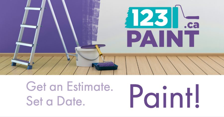 The 123 Paint Process; Get an Estimate, Date, & then Paint!